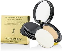iヴsanro-ran Le Compact Encre De Peau Fusion Ink Compact Foundation–# BR20, G/0.35oz Parallel import goods