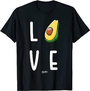 I Love Avocado Vegan Avocado Addict Cute Avocado Lover Shirt