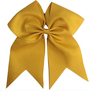 blue gold and white cheer uniforms