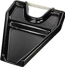 Crisnails® Lavatesta Portatile per Sedia Regolabile e Girevole per Vassoio di Lavaggio Poggiatesta Portatile per Capelli, Piccolo, Nero