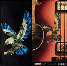 American Eagle In Abalone Theme Inlay Sticker Decals for Guitar & Bass Body