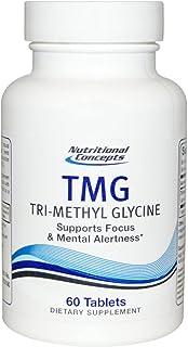 Nutritional Concepts TMG Tri-Methyl Glycine - 60 Tablets