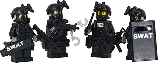 Modern Brick Warfare Swat Team Police Squad Custom Minifigure