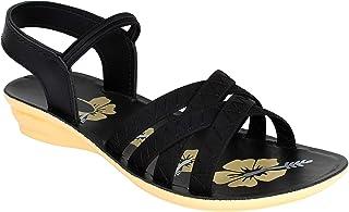 WORLD WEAR FOOTWEAR Women's (983) Casual Stylish Sandal