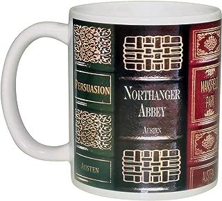 Jane Austen Novel Books Coffee or Tea Mug