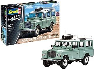 Revell Revell 07047 7047 Kultauto Land Rover Series III LWB Station Wagon för gör-det-själv, bilmodellssats 1:24, 19,4 cm ...