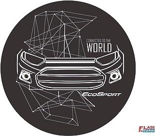 Capa de Estepe Ecosport Flash Tapetes & Acessórios CONNECTED TO THE WOLD ARO 16