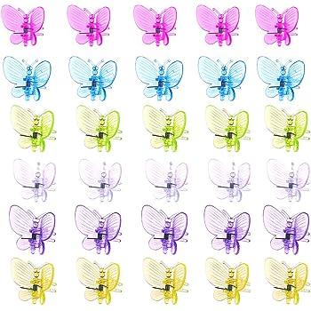 100 St/ück Pflanzenclip Sch/öne Chrysanthemenform Gartenblumenst/ängel Befestigungsst/ützen Gartenblumenrebenstifte f/ür St/ützstiele Wifehelper Pflanzenstielclip with Pin in Clip