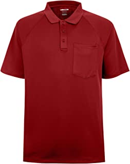 Men's Soft Wicking Lightweight Cool Polo Shirt Short Sleeves