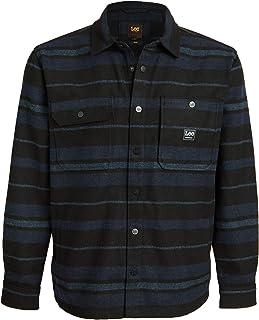 Lee Men's Box Pocket Long Sleeve Shirt Jacket