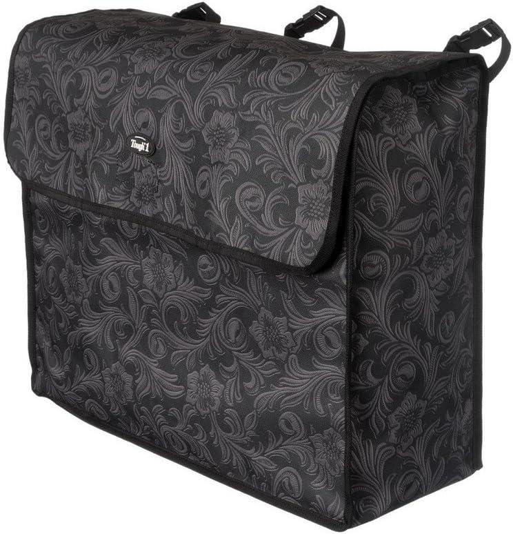 Tough-1 Blanket Storage Bag Black Tooled Leather : Pet Supplies