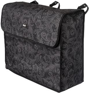 Tough-1 Blanket Storage Bag Black Tooled Leather