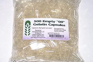 Capsule Connection Wholesale 500 Bulk Empty Gelatin Capsules, 00 Size …