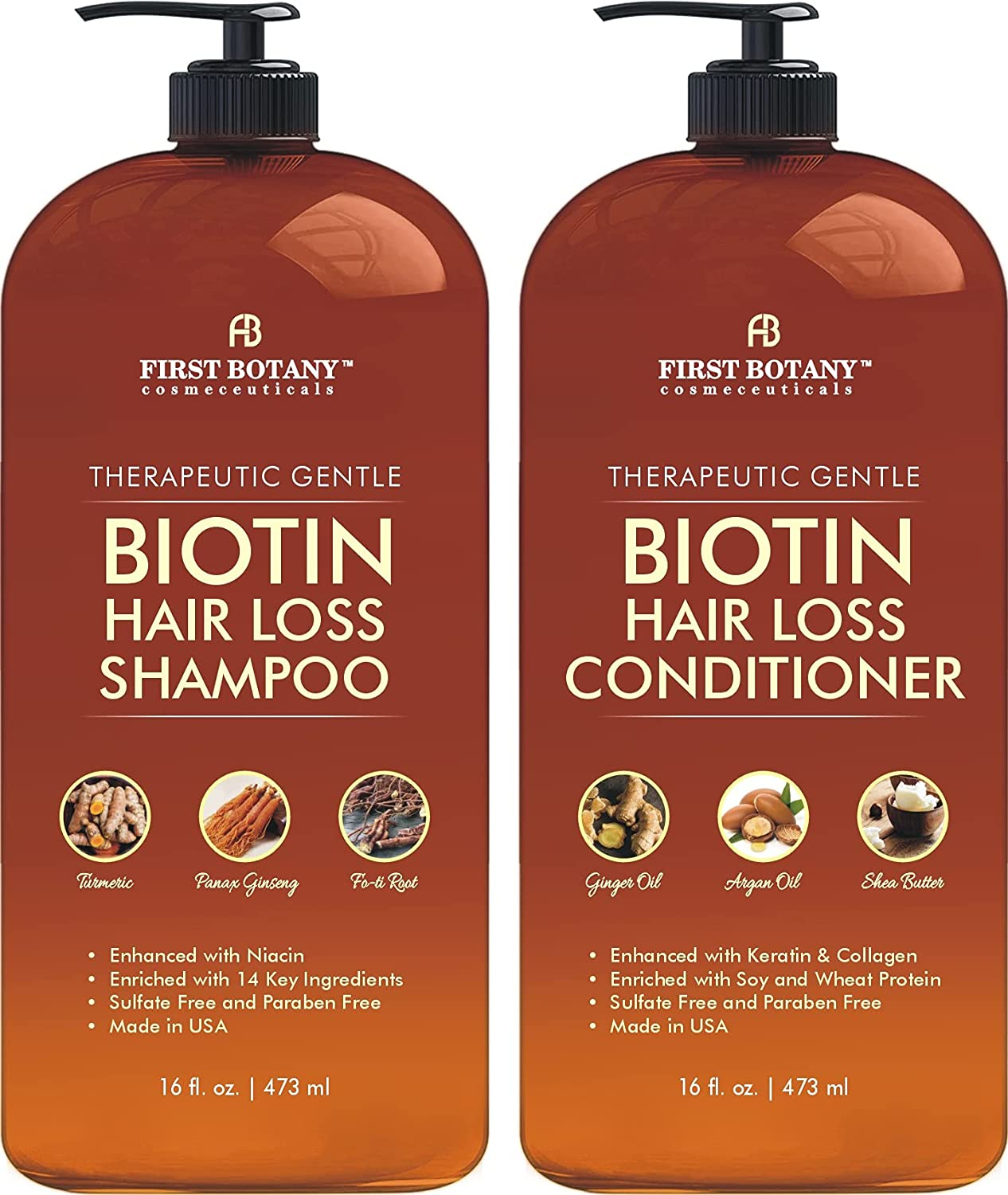 Hair Growth Limited 2021 autumn and winter new time trial price Shampoo Conditioner Set - S Loss Anti An Biotin