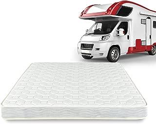 Zinus 6 Inch Spring RV/Camper/Trailer/Truck Mattress, Short Queen