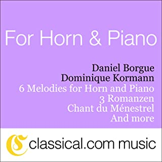 Best six melodies for horn and piano Reviews