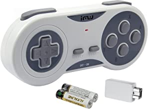 iMW Wireless Gaming Controller for NES and Super NES Classic Edition - Grey