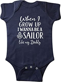 Future Sailor Like Daddy Infant Creeper