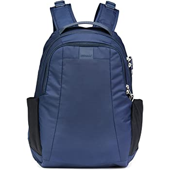 PacSafe Metrosafe LS350 Anti-Theft Leisure Backpack, 42 cm, 15 L, Deep Navy 638: Amazon.co.uk: Clothing