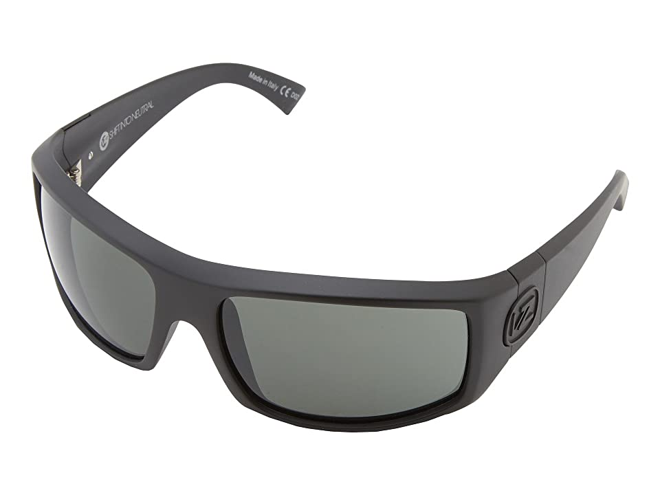 VonZipper Clutch (SIN Black Satin/Grey) Sport Sunglasses