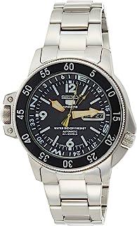 Seiko Men's SKZ211J1 Black Dial Watch