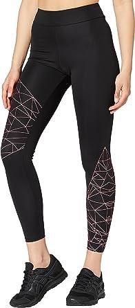 Amazon Brand - AURIQUE Women's Optic Print Sports Leggings