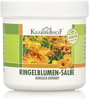 Kräuterhof 5er Vorteilspack Ringelblumen-Salbe mit Vaseline, 5 Dosen a 250ml