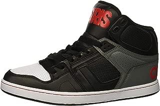 #Osiris NYC 83 CLK Black Grey Mens Skate Mid Trainers Boots