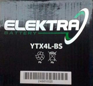 4 temps 00 Batterie 12 V 4 Ah YTX4L-BS Gel Nitro 50314 Znen 50 QT-E