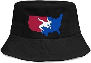 Unisex Print Bucket Hat Cotton Boonie Cute Cap Sun Mermaid Fisherman Bucket Hat Cap Dad Hat