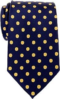 Classic Polka Dots Woven Microfiber Men's Tie - Various Colors