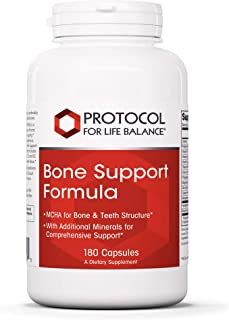 Protocol For Life Balance - Bone Support Formula - with Magnesium and Vitamins C, D, K2 to Support Bone and Teeth Structur...