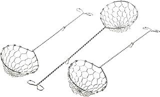 Metaltex 256015010 Écumoires à fondue Inox Pack de 3