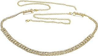KRITIKA CREATIONS White Stone kamarpatta Jewellery for Women kamarband for Girls ottiyanam Waist Jewelry for Women Hip Bel...