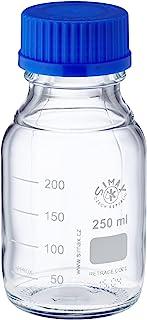 neolab S de 1430Laboratorio botellas GL 45, ISO de rosca, tapa y anillo de apertura, 250ml (10unidades)