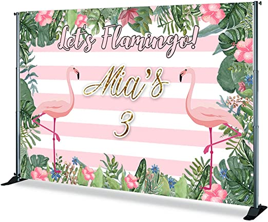 Levoo Cartoon Background Banner Photography Studio Children Baby Birthday Family Party Holiday Celebration Romantic Wedding Photography Backdrop Home Decoration Customizable Words 5x3ft,sxy1462