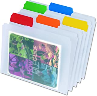 Pendaflex Poly File Folders, Letter size, Assorted, 25 per box (55702)