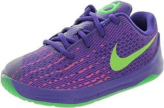 Nike Toddlers KD 8 (TD) Crt Prpl/Grn Strk/Vvd Prpl/Brg Basketball Shoe 5 Infants US