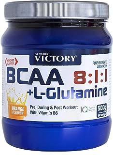 BCAA 8:1:1 + Glutamina 500g. Sabor Naranja. Con un plus