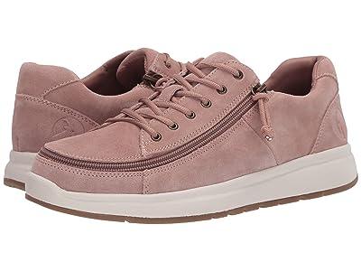 BILLY Footwear Comfort Suede Lo (Blush) Women