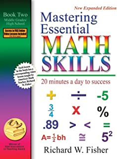 Sponsored Ad - Mastering Essential Math Skills: 20 Minutes a Day to Success, Book 2: Middle Grades/High School