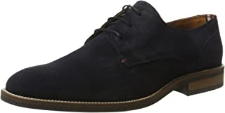 Tommy Hilfiger Essential Suede Lace Up Derby, Richelieus Homme