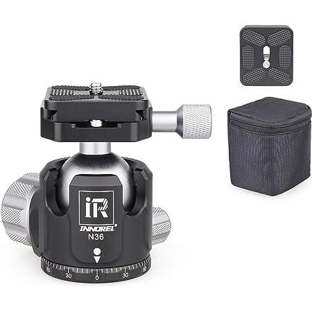 Innorel N36 Kugelkopf Stativköpfe Tripod Head Niedrige Kamera