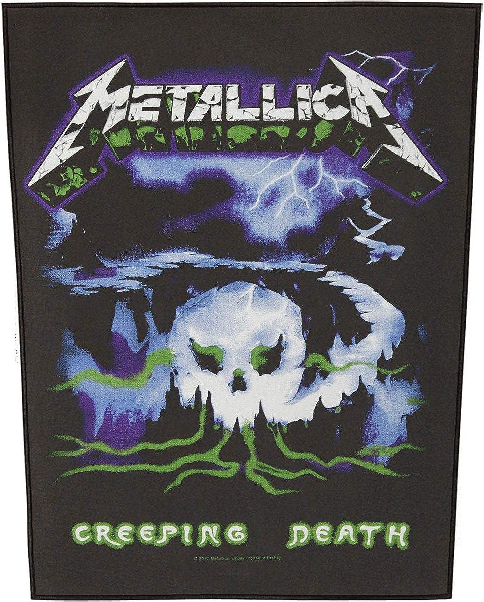 Metallica Men's Creeping Death Back Black Regular Selling discount Patch