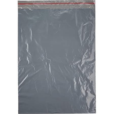 Triplast 6 x 9-Inch Plastic Mailing Postal Bag Grey Pack of 200