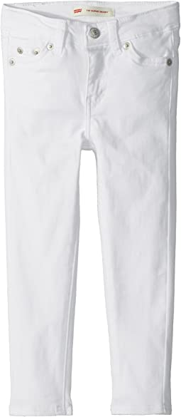 Levi's® Kids - 710 Brushed Sueded Super Skinny Jeans (Toddler)