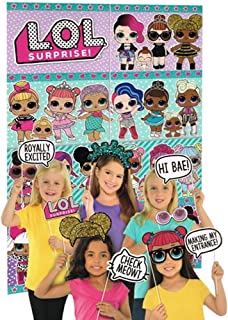LOL Surprise! Wall Poster Decorating Kit w/Photo Props (16pc)