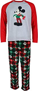 Men's Mickey and Minnie Mouse Holiday Family Sleepwear Collection