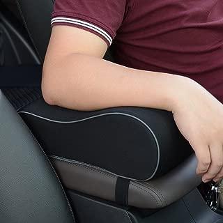 sincoco Car Armrest Support Cushion,Memory Foam Car Center Console armrest Pad, Car Armrest Cover for Center Console