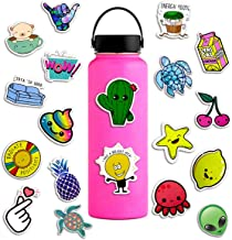 50 Pieces of Vinyl Personalized Stickers Waterproof and Durable Fashion and Cute, This Decal is Very Suitable for Water Bottle Laptop Phone Suitcase.
